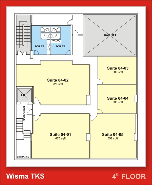 Floor plan for Industrial building layout plan